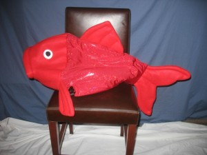 Red Fish Costume