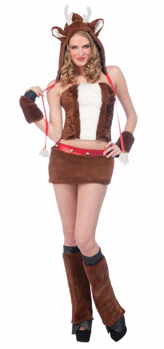 Reindeer Costume For Women reindeer costumes (for men, women, kids ...