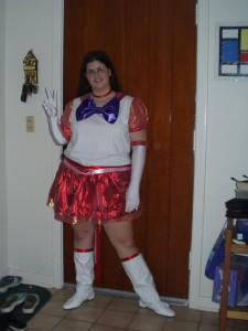Sailor Mars Costume Pictures