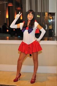 Sailor Mars Costume Rave