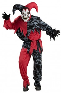 Scary Jester Costumes