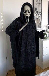 Scream Costume with Knife