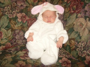 Sheep Costume for Baby