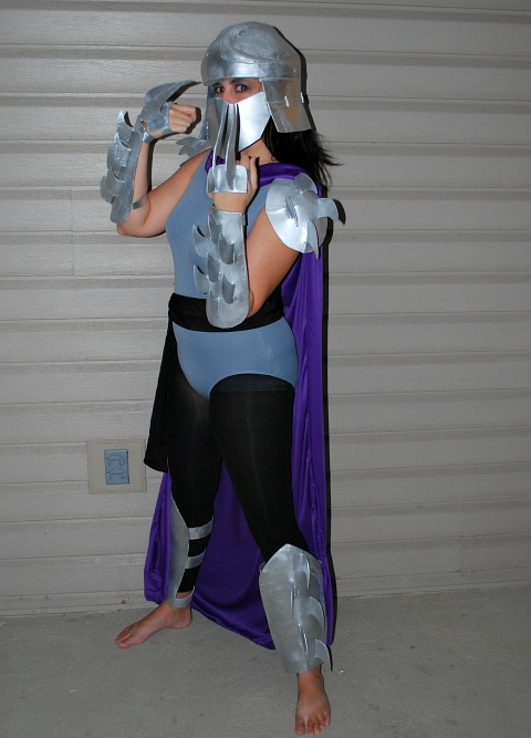 shredder halloween costume
