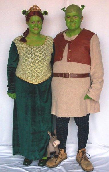 shrek costumes for men women kids parties costume. Black Bedroom Furniture Sets. Home Design Ideas