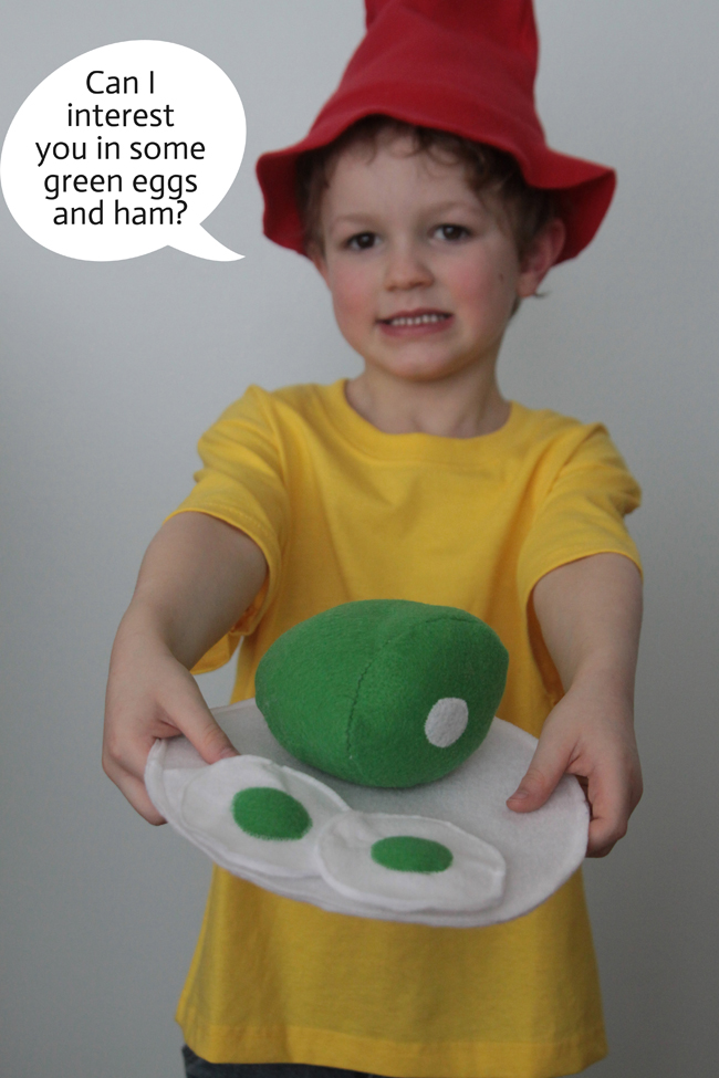 Green Eggs And Ham Halloween Costume