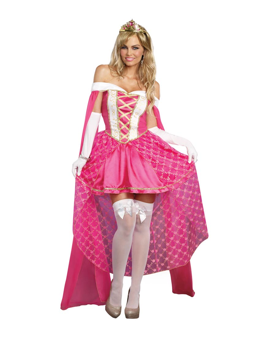 Possible tell, Adult beauty costume sleeping