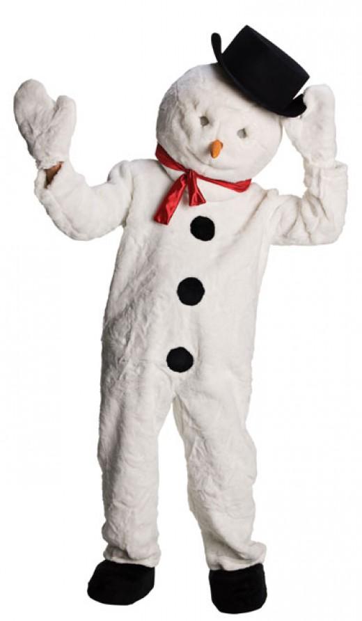 Snowman Costumes For Men Women Kids Parties Costume