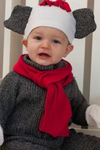 Sock Monkey Costume Child