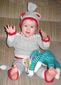 Sock Monkey Costume Toddler