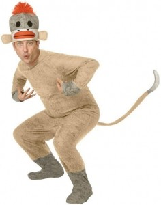 Sock Monkey Costumes for Adults