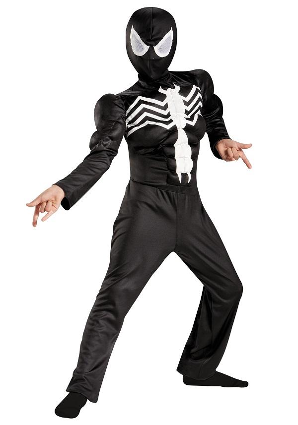 Black Spiderman Costumes   Parties Costume