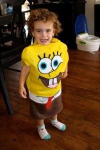 Spongebob Costume Toddler