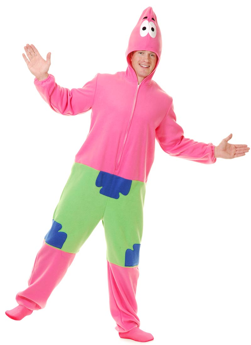 spongebob patrick adult costume
