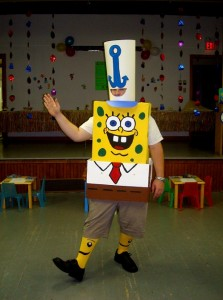Spongebob Homemade Costume