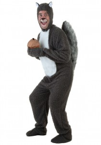 Squirrel Costume for Adults