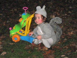 Squirrel Costume for Baby