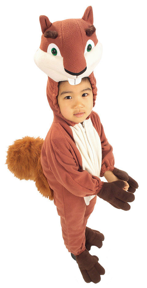 Squirrel Costumes Men Women Kids Parties Costume