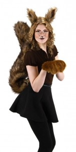 Squirrel Tail Costume
