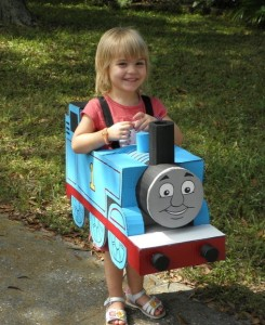 Thomas the Train Girl Costume