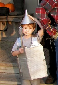 Tin Man Costume DIY