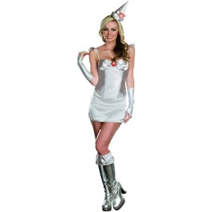 Tin Man Costume Women