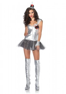 Tin Man Costume for Girls