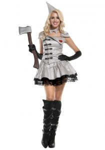 Tin Man Costume for Women