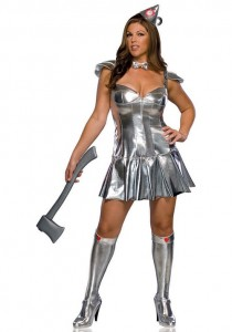 Tin Man Girl Costume