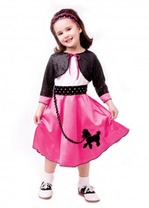Toddler 50s Costume
