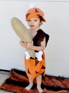 Toddler Bam Bam Costume