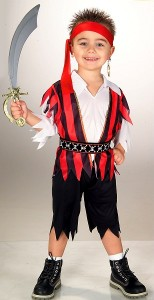 Toddler Boys Pirate Costume