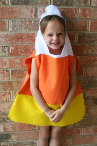 Toddler Candy Corn Costume