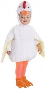 Toddler Chicken Costume