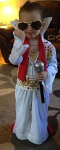 Toddler Elvis Costume