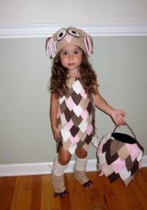 Toddler Girl Owl Costume