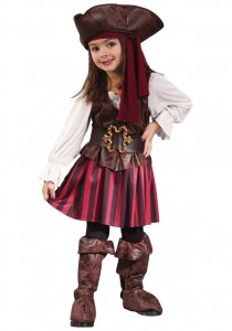 Toddler Girl Pirate Costume
