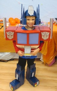 Toddler Optimus Prime Costume