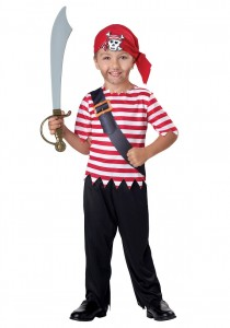 Toddler Pirate Costume Boy