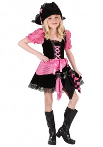 Toddler Pirate Costume Girl