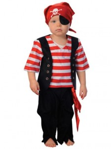 Toddler Pirate Halloween Costume