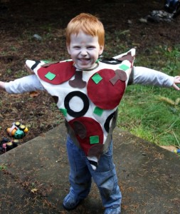 Toddler Pizza Costume