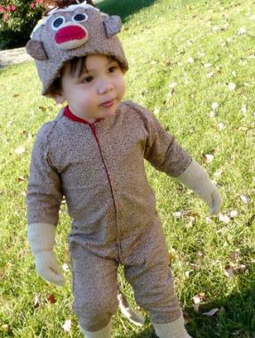 diy toddler sock monkey costume sock monkey costumes for costume