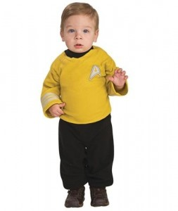 Toddler Star Trek Costume