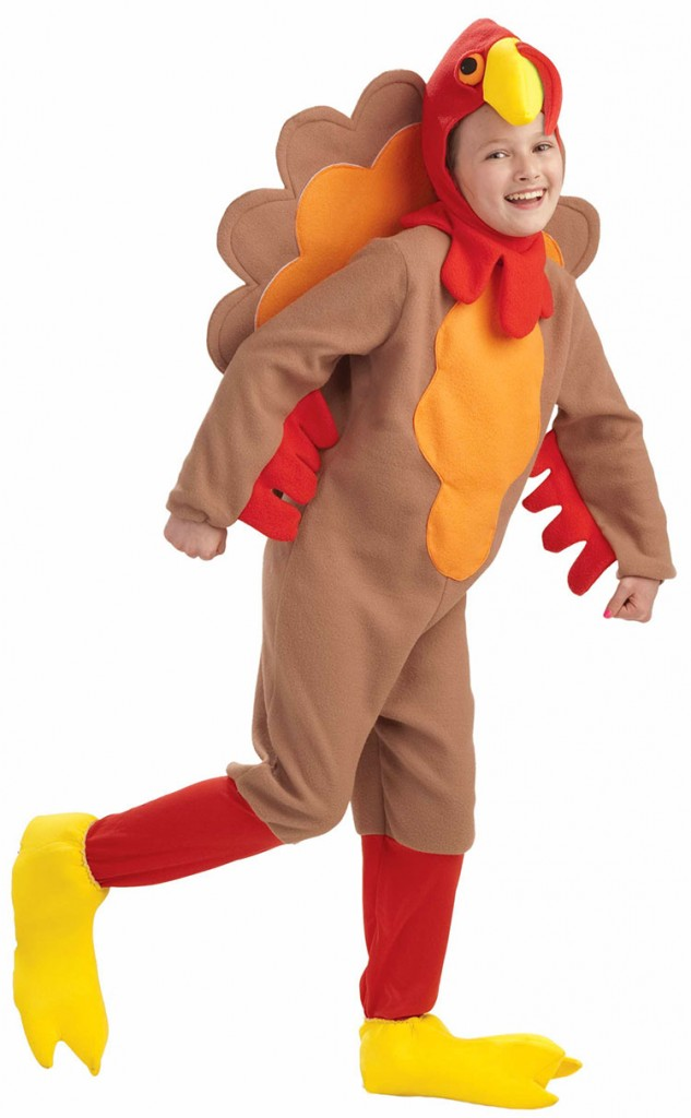 How to make a turkey costume