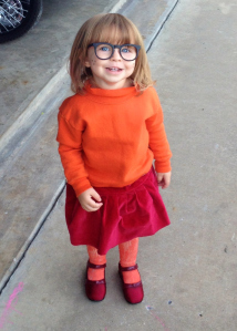 Toddler Velma Costume
