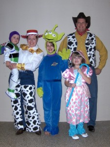 Toy Story Family Costumes