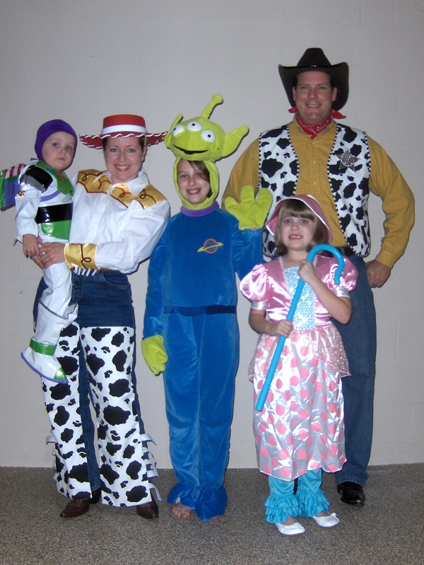 Disney Themed Halloween Costumes Family