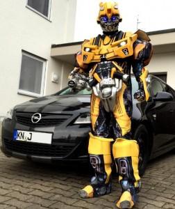 Transformer Adult Costume