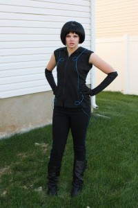 Tron Female Costume
